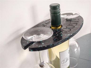 Wijnglazenhouder plenk